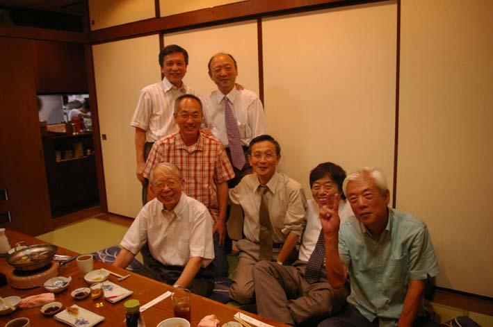 松永会有志が築地「やまに」で還暦祝いを開催(08・9・4)_c0014967_7505896.jpg