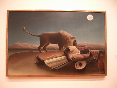 ニューヨークのミュージアム④MoMA_b0031055_0385145.jpg