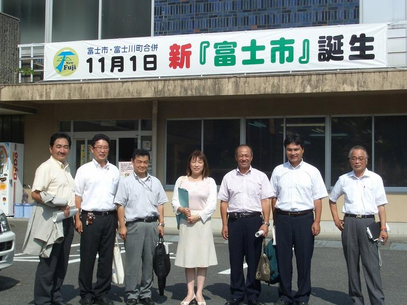 新人議員自主研修 富士川町の公共施設見学_f0141310_23315763.jpg