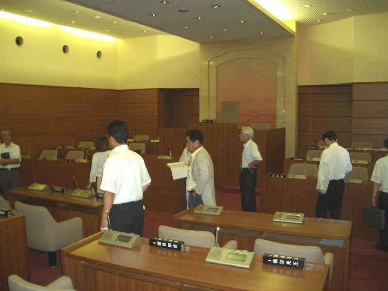 新人議員自主研修 富士川町の公共施設見学_f0141310_23323341.jpg
