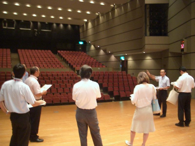 新人議員自主研修 富士川町の公共施設見学_f0141310_2333426.jpg