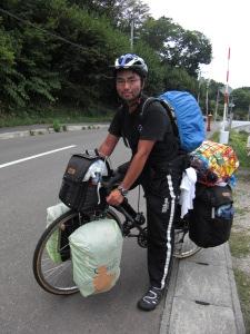 自転車日本一周中 : 小樽の宿 ...