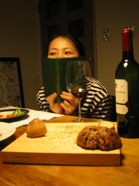 フランスワインと村上春樹。_f0170995_9511738.jpg