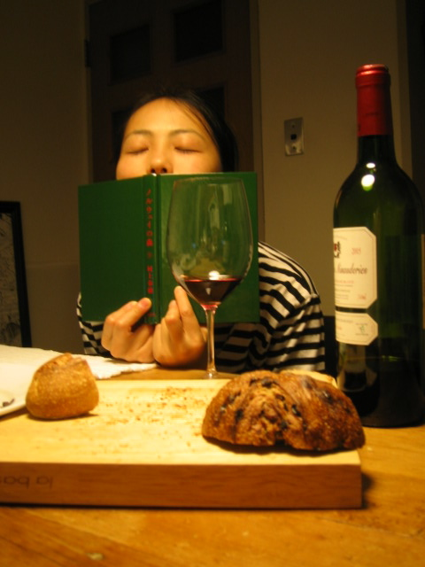 フランスワインと村上春樹。_f0170995_9513426.jpg