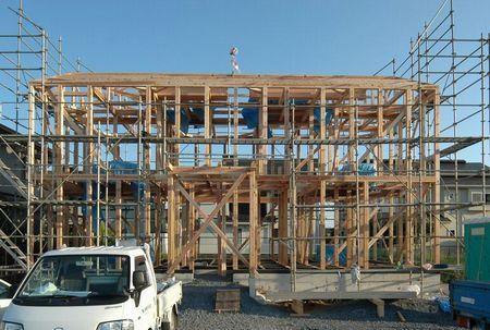つくばのOMの家が上棟しました!_a0059217_13183622.jpg