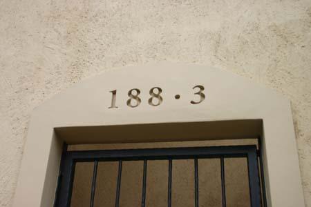 外構工事 ピンクとグリーンの壁の家_e0074935_1513146.jpg