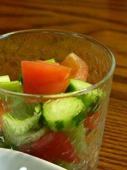 赤魚のトマト風味スープと献立☆GABANスパイス♪_c0139375_15213335.jpg