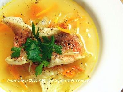 赤魚のトマト風味スープと献立☆GABANスパイス♪_c0139375_15222060.jpg