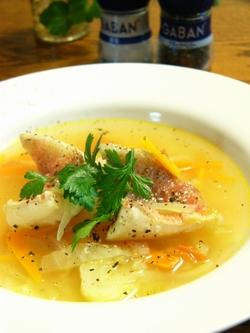 赤魚のトマト風味スープと献立☆GABANスパイス♪_c0139375_15234037.jpg