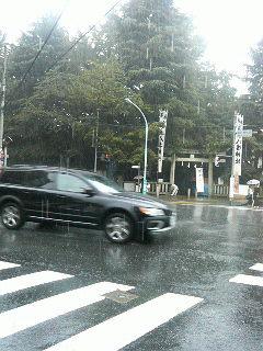 時ならぬ雨、そしてパフェ_a0075684_22512257.jpg