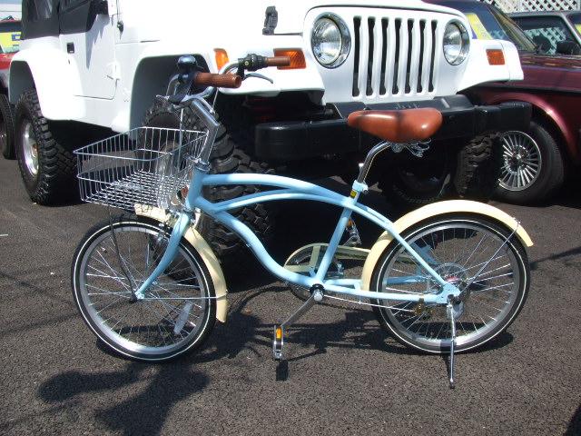 海やアウトドア街のりに合う自転車 & お子さんにかわいい車_b0123820_1135799.jpg