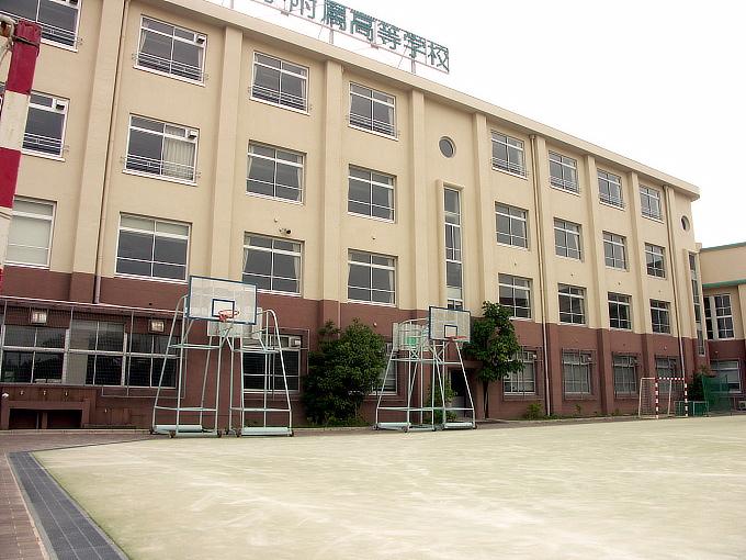 旧神戸市森高等女学校校舎(神戸学院大学付属高等学校)_f0116479_20452585.jpg