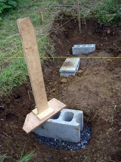 畑に物置小屋が出来るまで 2_c0063348_22482944.jpg