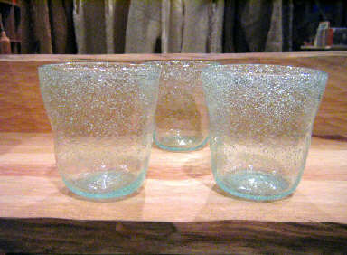 ガラス作家 前田一郎さんのグラスが入荷しました。_a0077752_2205830.jpg