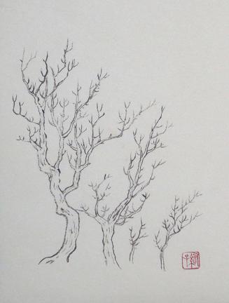 『芥子園画伝』 樹法⑰_c0160745_22121132.jpg