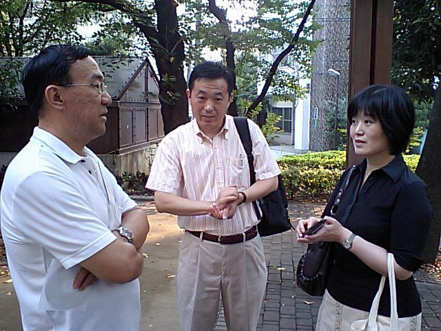 第57回漢語角開催写真その5 中国人学者が交流_d0027795_16103752.jpg