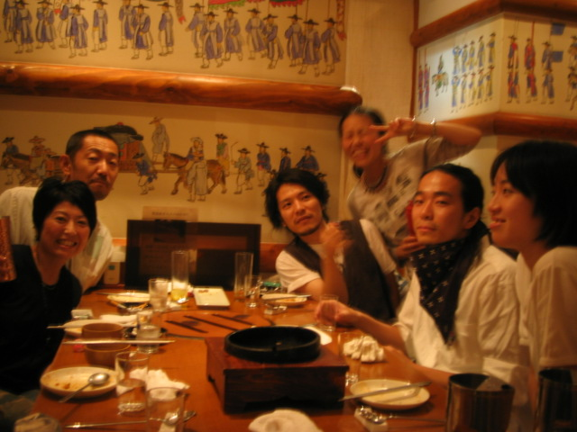 韓国料理 < 笹原夫妻ネタ_f0170995_1292492.jpg