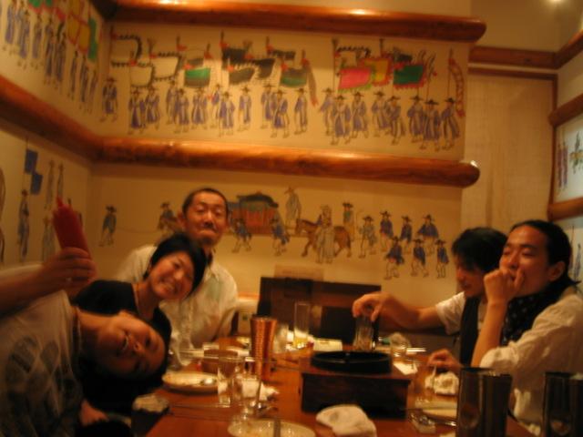 韓国料理 < 笹原夫妻ネタ_f0170995_1524325.jpg