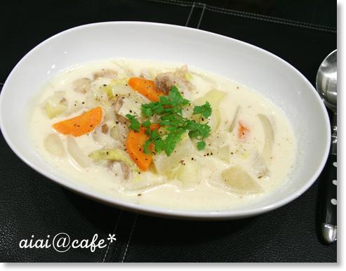 和野菜のクリームシチュー_a0056451_13383884.jpg