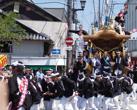 岸和田 だんじり祭り_c0118393_938171.jpg