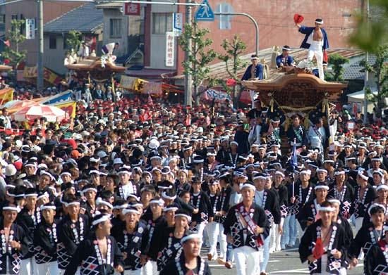 岸和田 だんじり祭り_c0118393_9485181.jpg