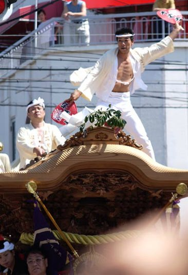 岸和田 だんじり祭り_c0118393_9532070.jpg