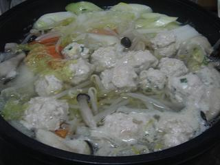 鶏団子鍋_c0025217_8183710.jpg