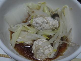 鶏団子鍋_c0025217_8184919.jpg