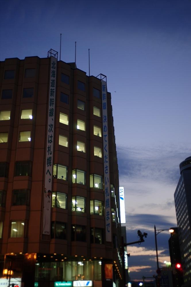 札幌、夕暮れの街7連発_f0042194_21564781.jpg