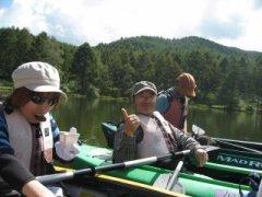 高原の湖でカヤック体験_f0019247_23323262.jpg