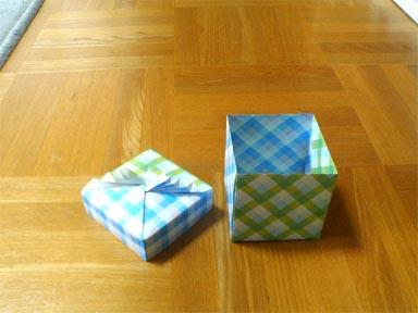 クリスマス 折り紙 折り紙 入れ物 : mrtn.exblog.jp