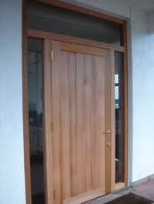 暖炉のDLD様玄関ドア。_f0075160_20581034.jpg