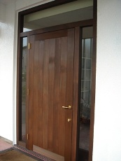 暖炉のDLD様玄関ドア。_f0075160_20582211.jpg