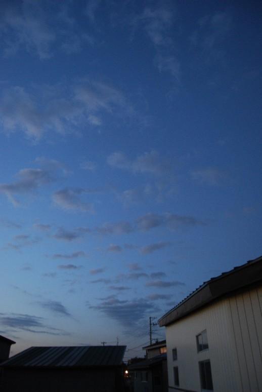 夕空は秋なれど_d0085096_13322180.jpg