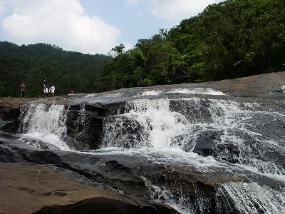 沖縄アルバム(8)西表島の川と滝_d0116009_2185214.jpg