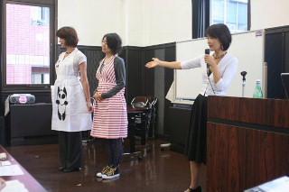 栄養士のためのファッションショーを開催して_d0046025_20323239.jpg