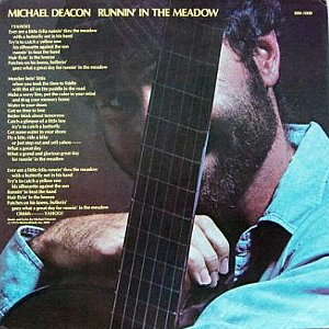 Michael Deacon / Runnin\' In The Meadow _e0012796_2171899.jpg