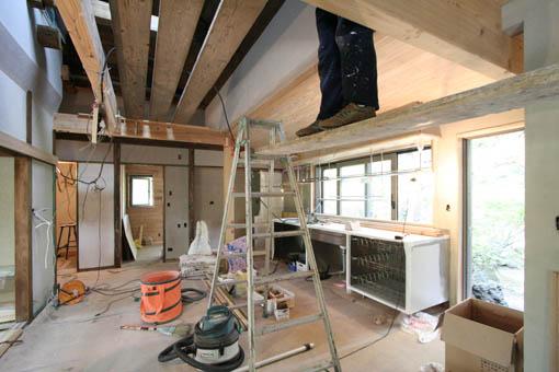 断熱・耐震改修の本荘の家:オーダーキッチン_e0054299_11534924.jpg