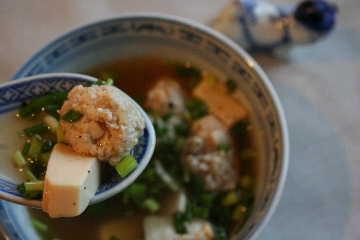 豆腐団子のあったかスープ_f0141419_5504592.jpg