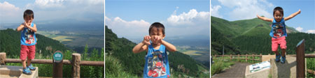 熊本のやんちゃ怪獣 ~ 九州旅行その1 ~_f0038727_1112396.jpg