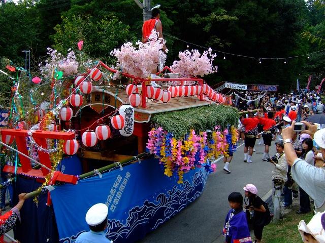 熊野筆まつり 彼岸舟、榊山神社へ登る_b0095061_1141535.jpg