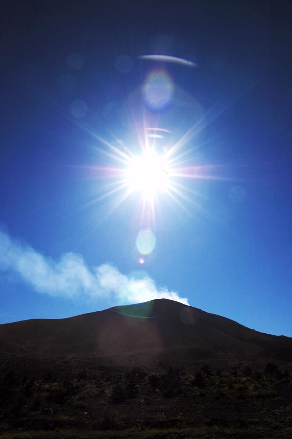 秋晴れの浅間山_f0180878_16323939.jpg