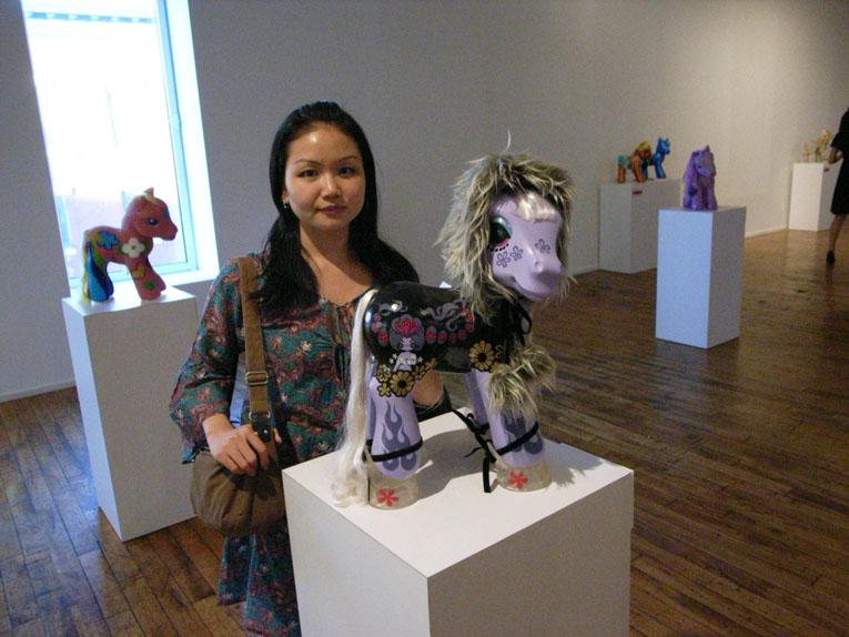 Junko Mizunoさんのポニーに会う。_a0077842_15341266.jpg