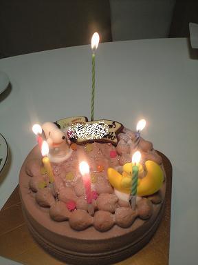 お誕生日~♪_e0123286_18322955.jpg