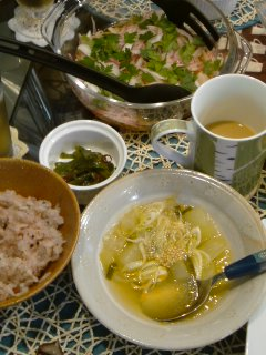アジアンなおうちCafeと・・・鶏のチリマヨソース。_f0177295_20113913.jpg