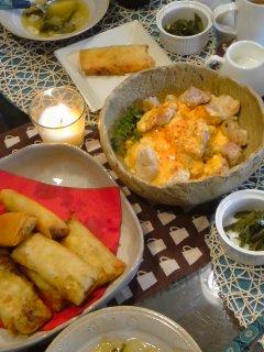 アジアンなおうちCafeと・・・鶏のチリマヨソース。_f0177295_20113968.jpg