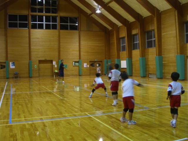 ドッジボール教室 _d0027501_20574980.jpg
