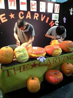 ハロウィンかぼちゃのカービング_f0179528_14493679.jpg
