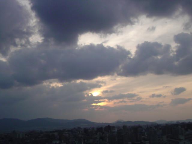 夕陽!!_e0051174_17431289.jpg