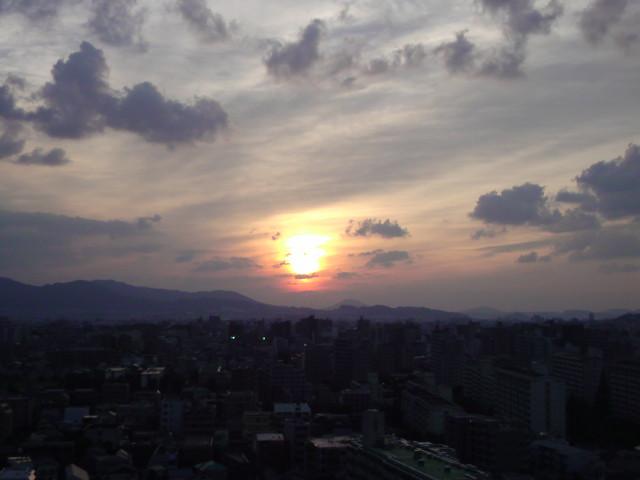 夕陽!!_e0051174_17573347.jpg